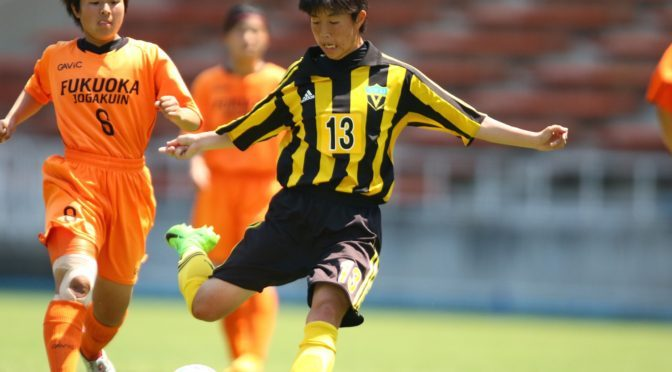 【U-17日本女子代表】東海大福岡高FW小林 綺那 選手が「第13回日中韓女子(U-18)サッカー大会」U-17日本女子代表メンバーに選出!