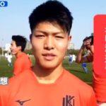 【インタビュー動画】 九国大付高 FW米山 漣 選手
