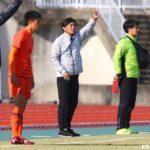 九国大付高サッカー部の杉山監督が福岡大若葉高の監督に就任。