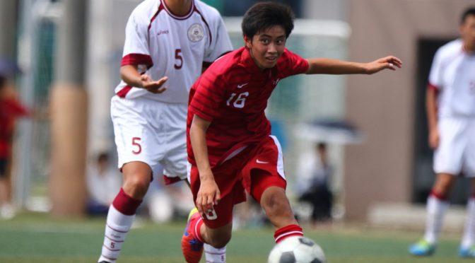 【写真特集】[U-15日本代表]東福岡高 荒木遼太郎 選手(1年)が、U-15日本代表 中国遠征メンバーに選出!(6枚)