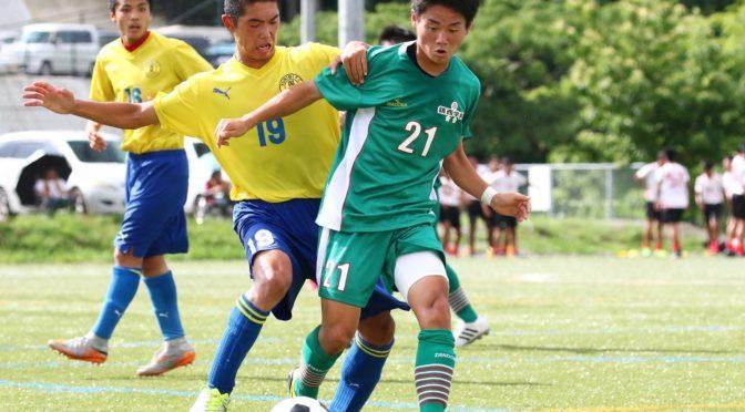 【写真特集】[長崎県1部リーグ]鎮西学院は松田尚之のゴールで国見に1-0勝利!(16枚)