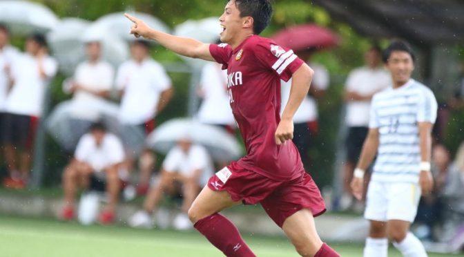 【MOM マン オブ ザ マッチ】福岡大_庄野 海(3年)スピードに乗ったドリブルと前線でボールを追い回しゴールを決め勝利に貢献!(11枚)