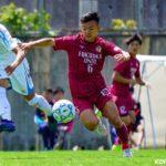 福岡大学 MF河原 創 選手がロアッソ熊本に来季新加入内定!