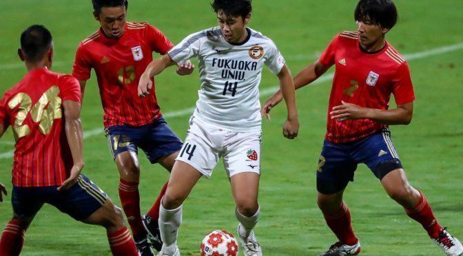 【写真特集】  [天皇杯1回戦]福岡大学はGK真木晃平がPK2本ストップで2回戦進出!(31枚)